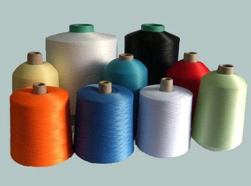 Polyester Spandex Blended Yarn