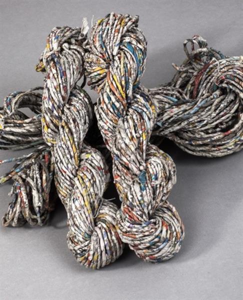 Wool Yarn Waste