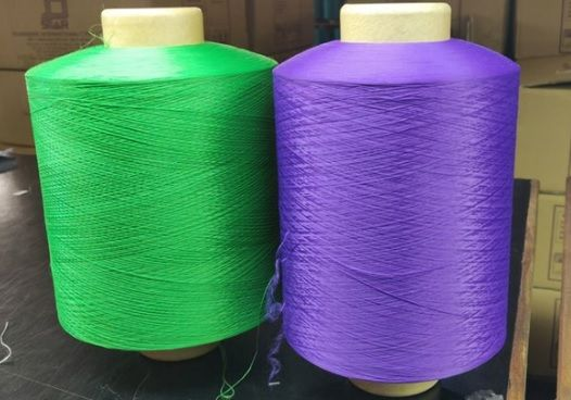 Bright Polyester Dyed Yarn