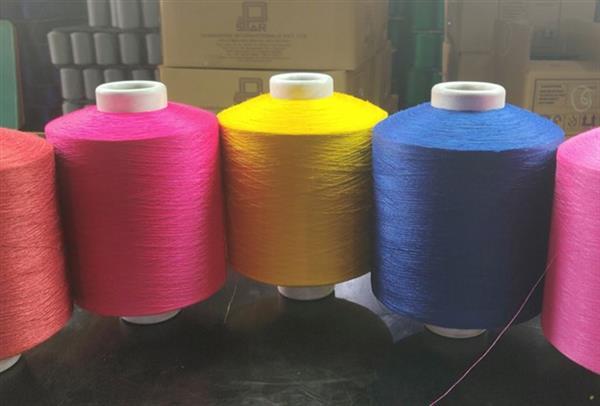 Polyester Airtex Dyed Yarn