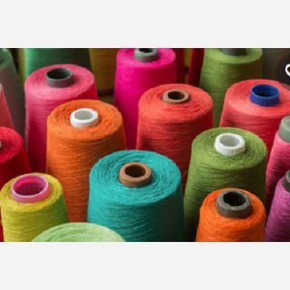 Cotton Gassed Mercerized Dyed Yarn