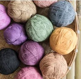 Cotton Recycled Cotton Blend Yarn