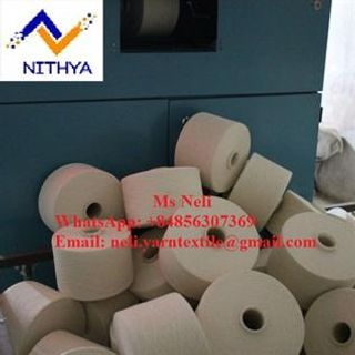 Natural Cotton Open End Yarn