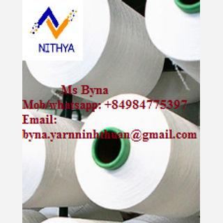 Greige Polyester Blended Yarn