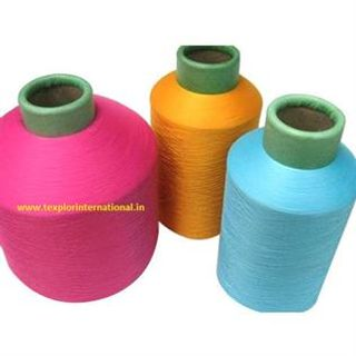 Dyed Polyester Textured Yarn