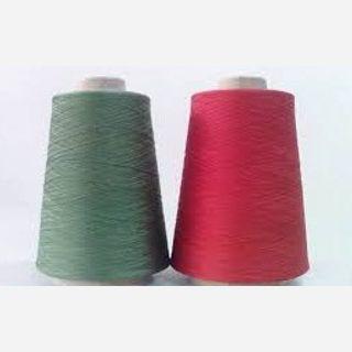 Green Certified Spun Polyester Yarn