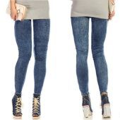 Ladies Denim Long Pant