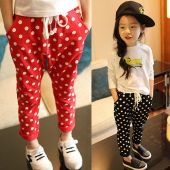 girl polyester trouser
