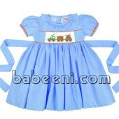 kids smocked dress