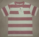 Men's Short Sleeve Strip T-Shirts