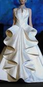 Ladies Classic Bridal Dress