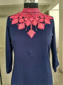 High Neck Embroidery Kurti