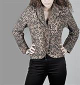 Womens Printed Coat