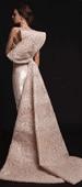 Silk Lycra Evening Dress