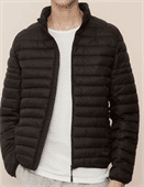 Men's Quilting Fake Down Jacket