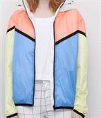 Mess Body Lining Women Fashion Light Jacket