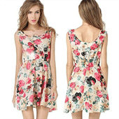 Ladies Printed Dress Manufacturers