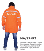Men's Stylish Orange Jacket