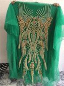 Ladies Beaded Evening Gown