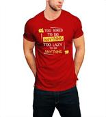 Half Sleeves Men's Round Neck T Shirt