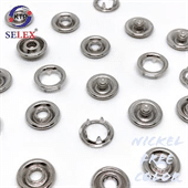 Ring Prong Snap Fastener