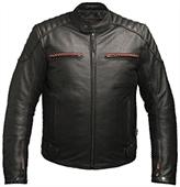 Multi pocket Leather Jacket