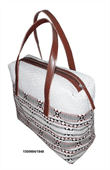 womens polyester cotton shoulder bag