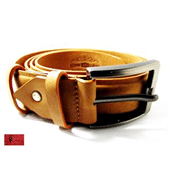 Split Cowhide Leather Belt