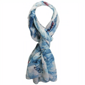 Flowers Ladies Scarves Supplier
