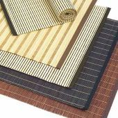 Linen and Bamboo Table Mats