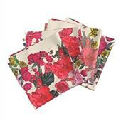 Cotton Flower Printed Kitchen Napkin
