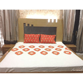 Unbleached Calico Printed Bed Sheets