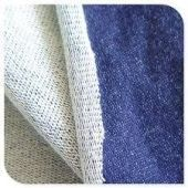 150 - 300 gsm, Knitted denim fleece, Greige & Dyed, Warp Knit, Weft Knit