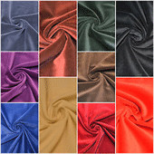 Velvet Plain Fabric