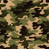 Polyester Camouflage Printed Fabric