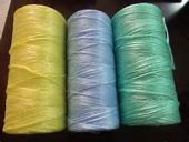 Dyed Hollow Conjugated Yarn
