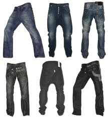 mens low waist jeans
