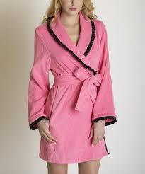 Ladies 100% Cotton Bath Robes