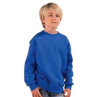 100% Cotton, Poly/Cotton (35/65, 40/60, 20/80), 8 - 14 yrs old