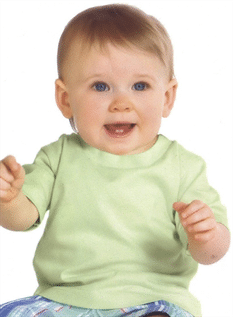 100% Cotton, Poly/Cotton (60/40, 70/30, etc), 40days - 8 years old