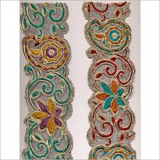 For Garments, 1 to 3 inch , 100% Cotton/Net/Chiffon/Spandex Fabric