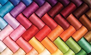 for garments, 40/3, 100% Spun Polyester