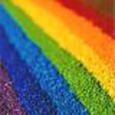 For Nylon, Polyester & Acetate Fabric, Raibow colour shade