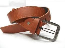 Men, Ladies & Kids, Braided Belt with blades, with antique brass buckle