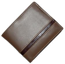 Mens leather wallet-8148