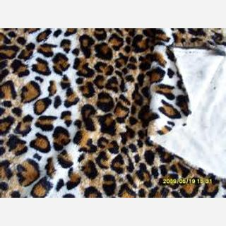 218-320 GSM, 80% Cotton / 20% Polyester one side brushed LSF Fabric , Dyed, Circular knitting