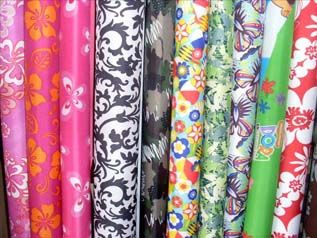 printed knit polyester fabric