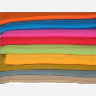 300 gsm, 78% Polyester / 18% Rayon / 4% Span, Dyed, Warp Knit