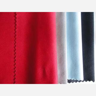 120-150 gsm, 50% Cotton / 50% Polyester , Dyed, Weft Knit
