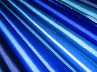 blue nylon fabric